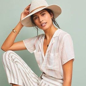 Anthropologie button down top